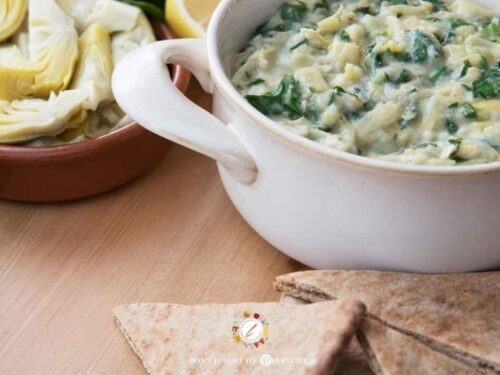 Artichoke Parmesan Dip Recipe Life Time Vibes
